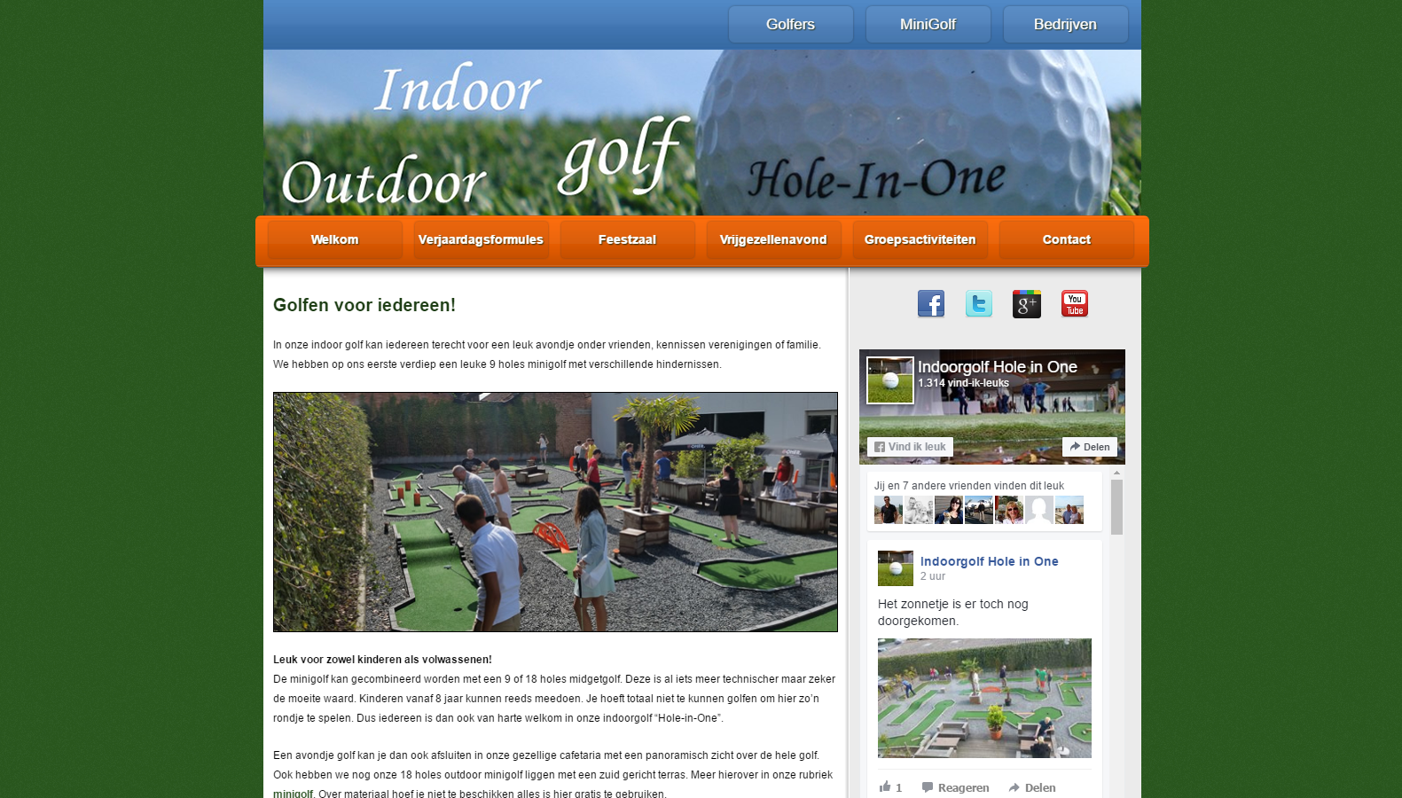 Indoorgolf Hole in One
