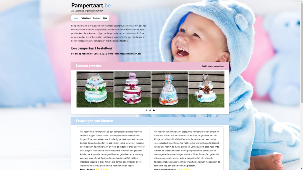 Pampertaart.be